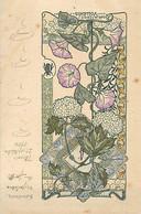 ILLUSTRATEUR A. HERBINIER - ENVOI EN 1904 - SERIE FLEURS - ART NOUVEAU STYLE MUCHA - VOLUBILIS - Altre Illustrazioni
