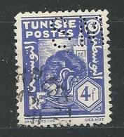 TUNISIE N° 261 OB TB PERFORE - Gebruikt