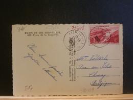92/489 CP FRANCE 1948 POUR LA BELG. - Unclassified