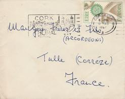 IRLANDE EIRE LETTRE EUROPA CORBAIGH 1967 - Storia Postale