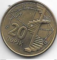*azerbaijan 20 Qapik 2006  Km 43  Unc - Azerbaïjan