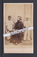 ORIGINAL-PHOTO-CDV-BALISORE-INDIA+-1868-PRIEST-MISSIONARY-CATHOLIC CHURCH-PHOTOGRAPHE-BENGAL JESUIT MISSION-TOP+RARE - Personas Identificadas