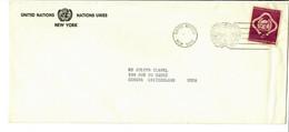 ONU UNO Nr 2 - Send To Geneva Switzerland - Cartas