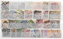 Belgium Lot Railway Stamps Spoorwegen - Non Classificati