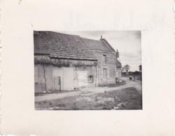 PHOTOGRAPHIE EURE ET LOIR MACHELAINVILLE FERME 1948 - Luoghi