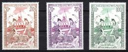 Col19  Laos PA  N° 80 à 82 Neuf  XX MNH   Cote 3,00€ - Laos