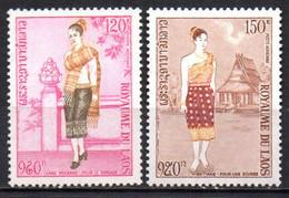 Col19  Laos PA  N° 101 & 102 Neuf  XX MNH   Cote 3,45€ - Laos