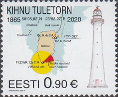 Estonia 2020 Kihnu Llighthouse - Phares