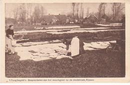Rijssen Stadsbleek 't Tuug Begéét'n Besprenkelen Van Het Wasgoed M1440 - Rijssen