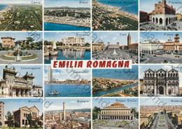 CARTOLINA  EMILIA ROMAGNA,BOLOGNA, PARMA, RIMINI, CESENA, PIACENZA,MODENA,FERRARA, REGGIO EMILIA, NON VIAGGIATA - Sin Clasificación