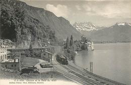Suisse - CHILLON - Un Train Passe... - VD Vaud