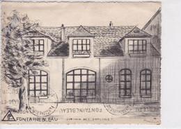 77 FONTAINEBLEAU Dortoir Des Garçons ,Editeur Marillier - Fontainebleau