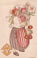 Natale  ,  Illustr.   Stenberg Aina.  -   Ediz.  Eskil   Holm ,  Stoccolma - Unclassified