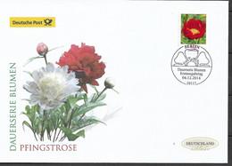 2014 Germany  Deutschland  Mi. 3114  FDC  Blumen : Pfingstrose (Paeonia Sp - FDC: Enveloppes