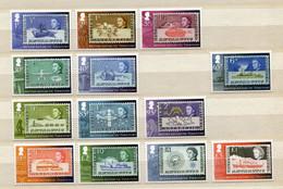 """British Antarctic Territory - Aus / From Mi.Nr. 616 / 631 - """"Briefmarkenserie: Antarktisforschung"""" ** / MNH (Jahr 2013) - Unused Stamps"""