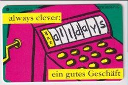 TK 30440 GERMANY - Chip O11952 11.95 5.000 DTMe Always  MINT! - O-Series : Series Clientes Excluidos Servicio De Colección