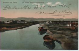 GRECE-Souvenir De Zante-La Rivière Saint-Chazalambos (colorisé) ; - Grecia