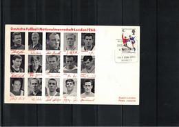 Great Britain 1966 World Football Cup England German Team Match England - Germany - 1966 – Inglaterra
