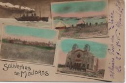 GRECE-Souvenir De Moudros (colorisé) - Grecia