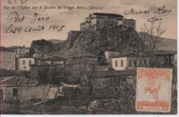GRECE-Vue De L'Eglise Sur Le Rocher Au Village Petra (Metelin) - Greece