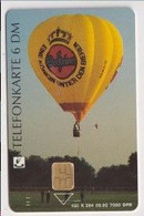 TK 30464 GERMANY - Chip K284 09.92 7.000 DPR Warsteiner Ballon - Beer MINT! - K-Series : Serie Clientes