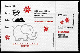 Austria 2020 Mih. 3563 (Bl.119) COVID-19 Coronavirus MNH ** - 2011-... Unused Stamps