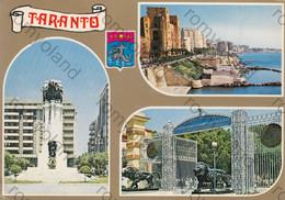 CARTOLINA TARANTO, PUGLIA, LUNGOMARE PORTO, CANALE, VACANZA,BARCHE A VELA,SOLE,MARE SPIAGGIA NON VIAGGIATA - Taranto