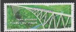 FRANCE 2018 VIADUC DU VIAUR OBLITERE YT 5247 - Used Stamps