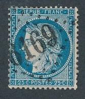 P-439: FRANCE: Lot Avec N°60 Obl GC 6169  Ind 31 (ILE DE PORQUEROLLE (78)) - 1871-1875 Ceres