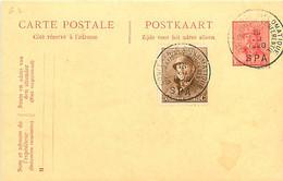 Belgique. CP 62 + TP 174  16/7/1920 Co,férence Diplomatique/ Diplomatische Conferentie/ Spa - 1919-1920 Trench Helmet