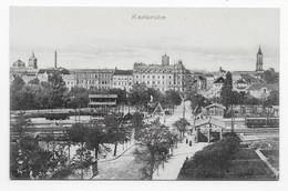 Karisruhe - 42046 Original-Eigentum Gebr. Metz, Tübingen. Carte Postale Non Voyagé, Dos Séparé, Superbe état. - Karlsruhe