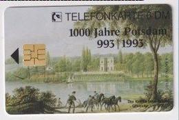 TK 30482 GERMANY - Chip O005 06.93 7500 DPR 1000 Jahre Potsdam  MINT! - O-Series : Series Clientes Excluidos Servicio De Colección