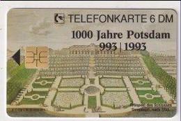 TK 30483 GERMANY - Chip O188C 08.93 5000 DPR 1000 Jahre Potsdam  MINT! - O-Series : Series Clientes Excluidos Servicio De Colección