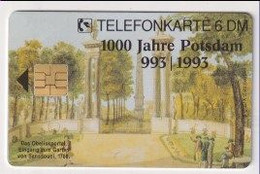 TK 30484 GERMANY - Chip O357A 10.93 2500 DPR 1000 Jahre Potsdam  MINT! - O-Series : Series Clientes Excluidos Servicio De Colección