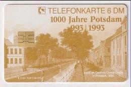 TK 30485 GERMANY - Chip O24 05.93 5000 DPR 1000 Jahre Potsdam  MINT! - O-Series : Series Clientes Excluidos Servicio De Colección
