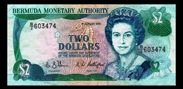 # # # Banknote Bermuda 2 Dollars 1989 # # # - Bermudas