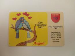 INTROVABILI & RARE - Tim - PASSAPAROLA - San Valentino 2001  - Tir 300 Pezzi - [2] Tarjetas Móviles, Prepagadas & Recargos