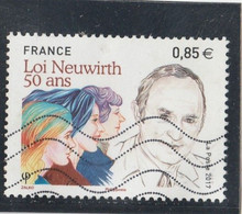 FRANCE 2017 LOI NEUWIRTH 50 ANS OBLITERE - YT 5121 - - Used Stamps