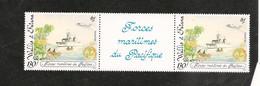 ANNÉE 1993 LES FORCES MARINES DU PACIFIQUE N° Y/T : 444A** MNH - Unused Stamps