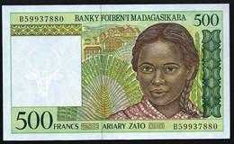 MADAGASCAR - 500 FRANCS - TROUPEAU - UNC - Madagascar