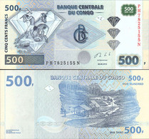 Congo 500 Francs 2013 UNC - Republik Kongo (Kongo-Brazzaville)