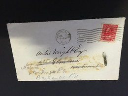 (BB 4) Canada (2 Front Of Letters) 1914 & 1915 ? - Gebraucht