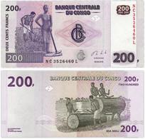 Congo 200 Francs 2013 UNC - Republik Kongo (Kongo-Brazzaville)