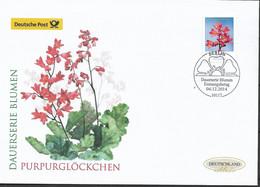 2014 Germay  Deutschland  Mi. 3117 FDC Blumen Purpurglöckchen (Heuchera Sp.) - FDC: Enveloppes