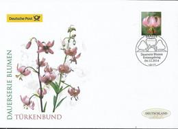 2014 Germay  Deutschland  Mi. 3118 FDC Blumen Türkenbundlilie (Lilium Mortagon) - FDC: Enveloppes