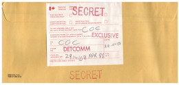 (BB 4) Canada / Secret / Defense Nationale  - - Militaria