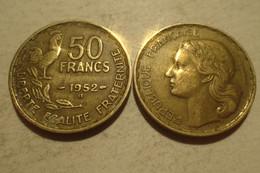1952 - France - 50 FRANCS, B Guiraud, KM 918 - M. 50 Francs