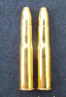 2 Cartouches Gras Mle 1874 Modifiée 1883 Chemisées - - Decorative Weapons