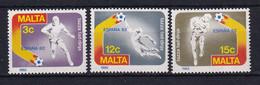 Malta: 1982   World Cup Soccer, Spain  MNH - Malta