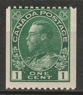 Canada 1915 Sc 131  Coil MH* - Nuevos